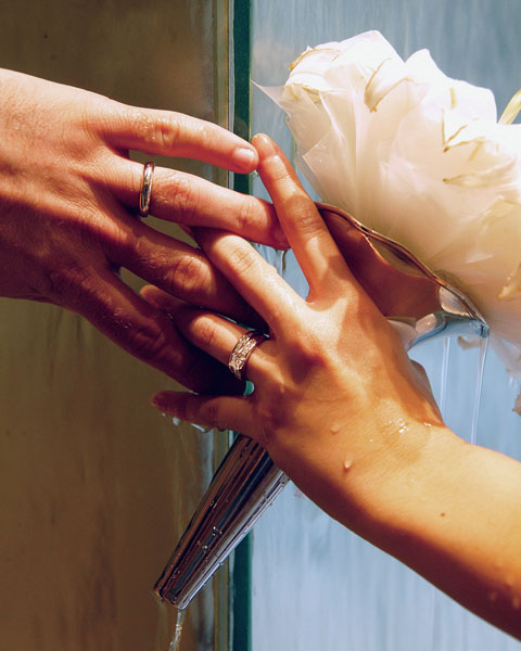 Show us your most creative wedding ring shot