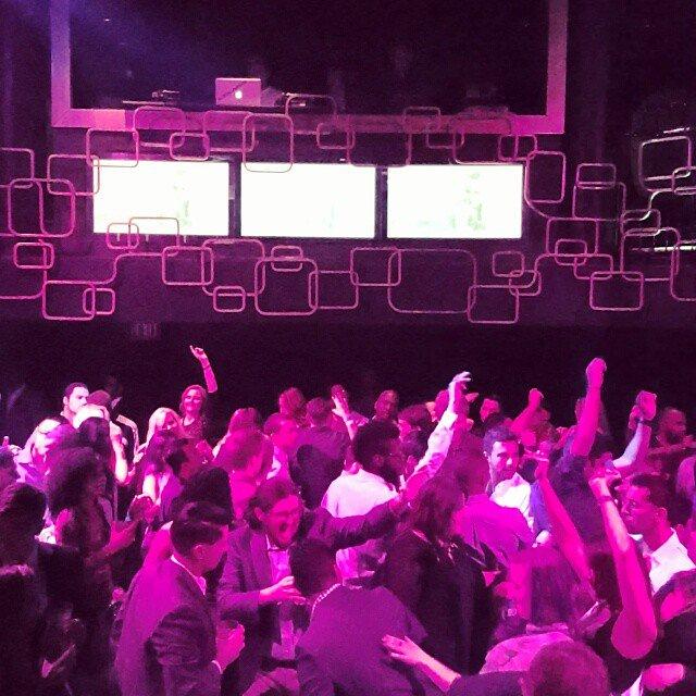 Playing at The Bank! #vegas #nightclub #party