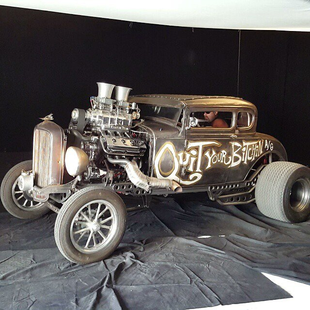 Check out this #RatRod at MG Studio @welderupvegas @vondeeter @joeatwelderup #mgstudio